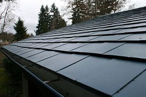 Metal Shingle Roof Snow Retention